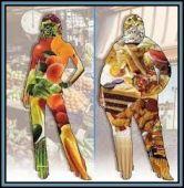 food 2 sizes